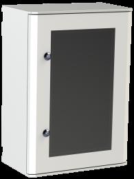 IP65 Hydra Kunststof straatkast 60x40x32 HxBxD transparante deur