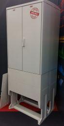 Straatkast 2  rug aan rug compartimenten 1100x800x640mm HxBxD